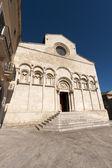 Termoli (Campobasso, Molise, Italy) - Cathedral facade — Foto de Stock