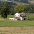 Stock Photo: Country house in Emilia-Romagn(Italy) near Cesenat summer