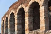 Verona (Veneto, Italy), Arches of Arena, Roman theatre — Stock Photo