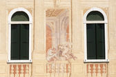 Riviera del Brenta (Veneto, Italy): Historic villa, paintings o — Stock Photo