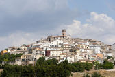 Forenza (Potenza, Basilicata, Italy) at summer — Photo