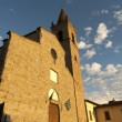 Medieval church in Arezzo (Tuscany, Italy) — Stock Photo #7406575