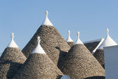 Murge (Apulia, italy) - Trulli — Stock Photo