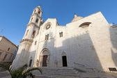 Bitetto (Bari, Puglia, Italy) - Old cathedral in Romanesque styl — Stock Photo