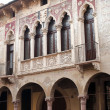 Vicenz(Veneto, Italy): historic buildings — Stock Photo #7557124