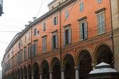 Modena (Emilia-Romagna, Italy) - Street with portico — ストック写真
