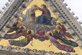 Siena (toskánsko, itálie) - dómu — Stock fotografie