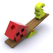 Housing Market Crunch — Stock Photo