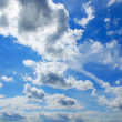 Stock Photo: Clouds and sky