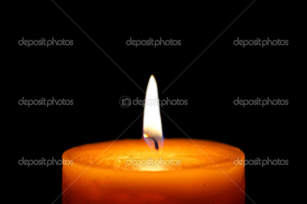 Beautiful candlelight  Stock fotografie #7484160