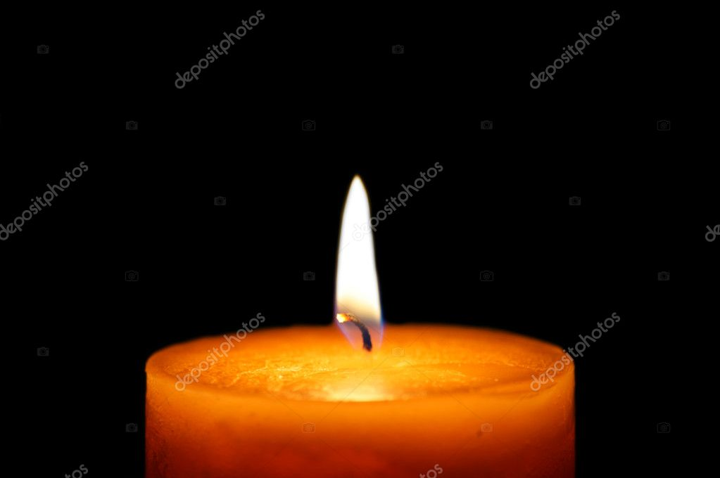 Beautiful candlelight  Stockfoto #7484160