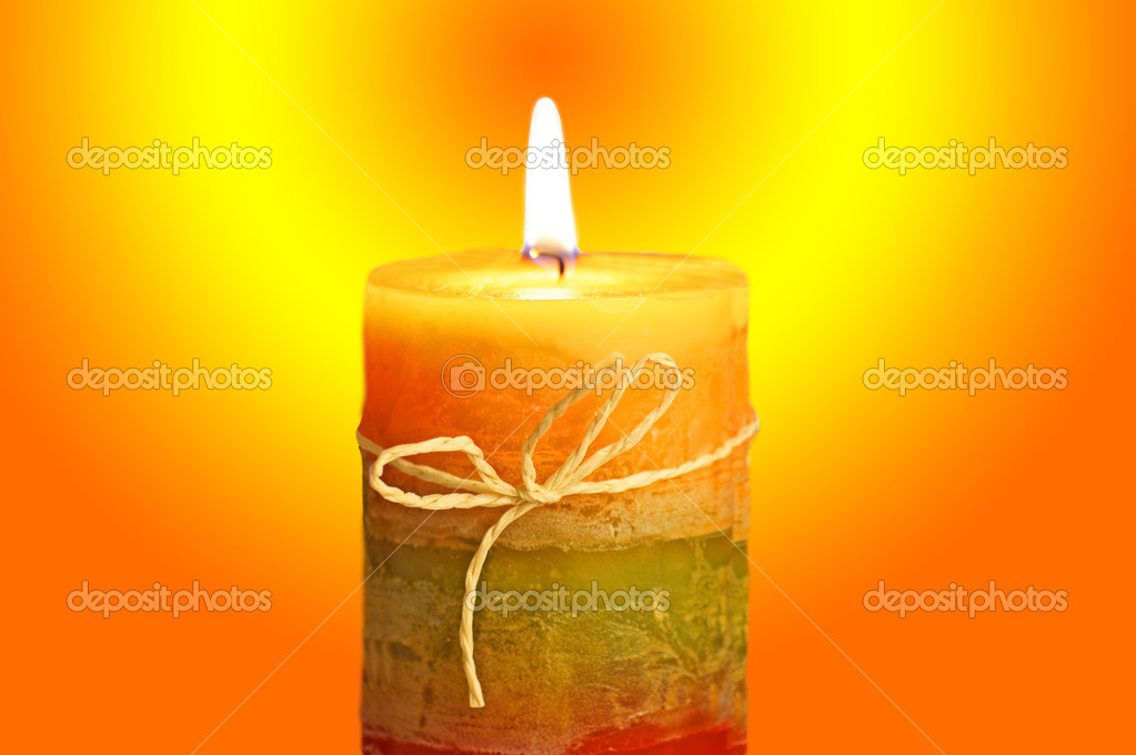 Beautiful candlelight  Stock Photo #7484251