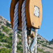 Stock Photo: Nautical Pulley