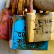 Love padlocks — Stock Photo #7022631