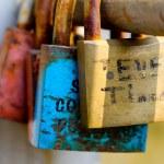 Love padlocks — Stock Photo #7022631