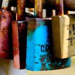 Love padlocks — Stock Photo #7022649