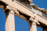 Columns and headband in the Ancient Greece — Stock Photo