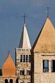 Rab's bell towers — ストック写真