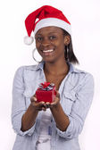Young South African Santa — Stock Photo