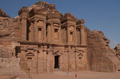 Monastery in Petra — Stock Photo