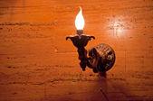 Night light on a wall — Stock Photo