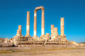 Hercules temple in H.D.R — Stock Photo
