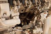 V8 engine — Stock Photo