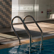 Pool ladder — Stock Photo #7953124