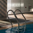 Pool ladder — Stock Photo