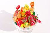 Sweets in a vase — Stock Photo