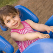 Riding Spring Toy — Stock Photo #7147597