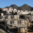 Residential buildings in Santa Cruize de Tenerife — Stock Photo