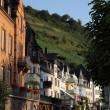 Street in the old town Zell, Rhineland-Palatinate Germany — Stockfoto