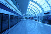 New Metro Station in Dubai, United Arab Emirates — Stock Photo