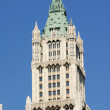 Top of the Woolworth Building in New York City — Stock Photo