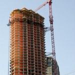 Skyscraper construction site — Stock Photo #6775164