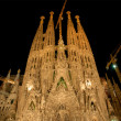 Royalty-Free Stock Photo: Sagrada Familia at night, Barcelona Spain