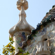 Details of Casa Batllo in Barcelona Spain — Stock Photo