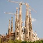 Sagrada Familia in Barcelona Spain — Stock Photo