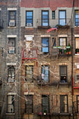 Apartment building in New York City — Stock Photo
