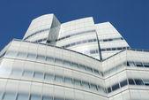 Futuristisches gebäude in new york — Stockfoto
