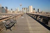 Brooklyn Bridge, New York — Stock Photo