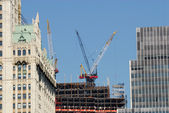 Construction site in the city — Stockfoto