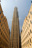 Rockefeller center in new york — Stockfoto