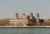 The immigration museum on Ellis Island, New York — Stock Photo