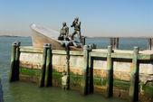在纽约城的美国商船海军陆战队纪念 — 图库照片
