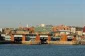 Staten Island Ferry Port — ストック写真