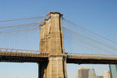 Brooklyn brug pyloon — Stockfoto