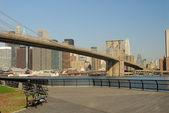 Brooklyn bridge, new york — Stockfoto