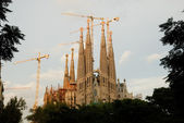 Sagrada Familia in Barcelona Spain — Stock Photo
